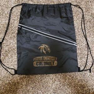 Handbags - Black purdue drawstring bag